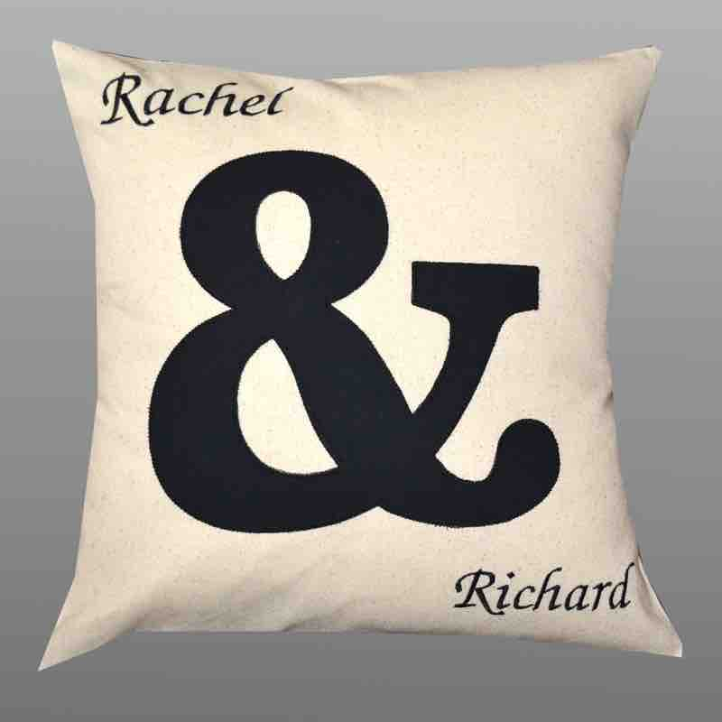 Personalised Cushion House Warming Gift Idea Engagment and Wedding Gift Idea